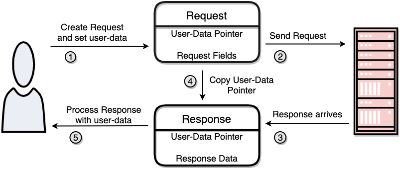 Request Response User Data
